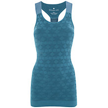 Buy Manuka Star Branded Racer Top, Steel Online at johnlewis.com