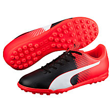 Buy Puma Evospeed 5.5 TT Football Boots, Black/Multi Online at johnlewis.com