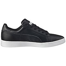 Buy Puma Smash Women's Trainers, Black Online at johnlewis.com