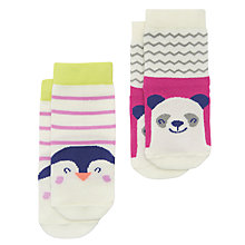 Buy Baby Joule Perfect Pals Socks, Pack of 2, Assorted Online at johnlewis.com