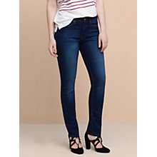 Buy Violeta by Mango Slim Valentina Jeans, Open Blue Online at johnlewis.com