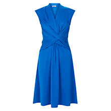 Buy Hobbs Cap Sleeve Emilie Dress, Azure Blue Online at johnlewis.com