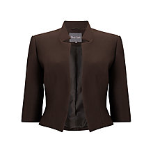 Buy Phase Eight Valentine Jacket, Chocolate Online at johnlewis.com