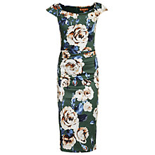 Buy Jolie Moi Floral Print Wiggle Dress Online at johnlewis.com
