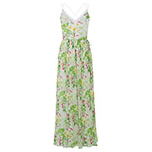 Buy Oasis Chelsea Floral Maxi Dress, Multi/Natural Online at johnlewis.com