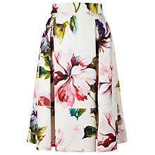 Buy Phase Eight Botanical Scuba Skirt, Multicoloured Online at johnlewis.com