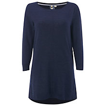 Buy White Stuff Whirlpool Tunic Top, Navy Online at johnlewis.com