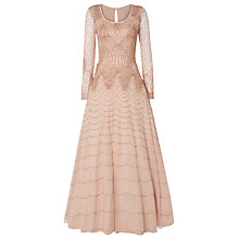 Buy Raishma Vintage Tulle Bead Gown, Blush Online at johnlewis.com