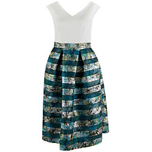 Buy Closet 2 in 1 Organza Skirt Dress, Multi Online at johnlewis.com