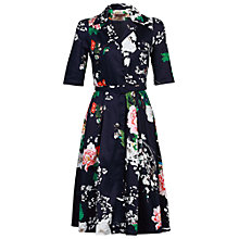 Buy Jolie Moi Belted Floral Print Shirt Dress Online at johnlewis.com
