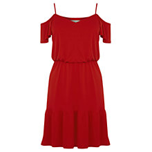 Buy Oasis Bardot Ruffle Hem Dress Online at johnlewis.com