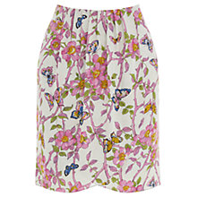 Buy Oasis Butterfly Wrap Skirt, Multi/Grey Online at johnlewis.com
