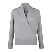 Buy Hobbs Florence Jumper, Soft Grey Online at johnlewis.com