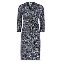Buy Hobbs Joyce Jersey Dress, Navy/Multi Online at johnlewis.com