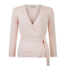 Buy Hobbs Myah Cardigan, Frost Pink Online at johnlewis.com