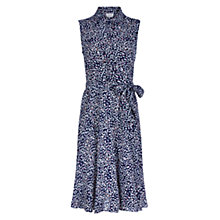 Buy Hobbs Joyce Shirt Dress, Navy Online at johnlewis.com