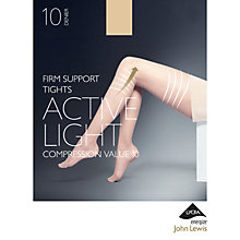 Buy John Lewis 10 Denier Firm Support Active Light Sheer Tights Online at johnlewis.com