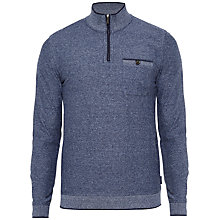 Buy Ted Baker Franco Funnel Neck Zip-Up Jumper Online at johnlewis.com