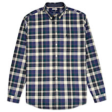 Buy Joules Forrester Classic Fit Shirt, Regency Green Tartan Online at johnlewis.com