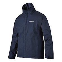 Buy Berghaus RG Alpha Waterproof Jacket, Blue Online at johnlewis.com