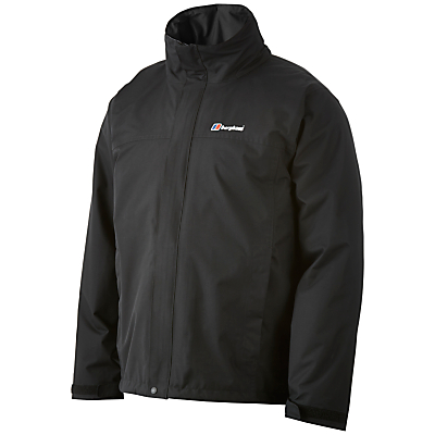 Image of Berghaus RG Alpha 3-in-1 Waterproof Men's Jacket, Black