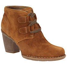 Buy Clarks Clareta Lyon Lace Up Ankle Boots, Tan Online at johnlewis.com
