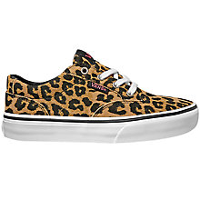 Buy Vans Children's Laced Winston Cheeta Casual Shoes, Cheetah Online at johnlewis.com