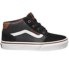 Buy Vans Children's Chapman Casual Shoes, Black Online at johnlewis.com