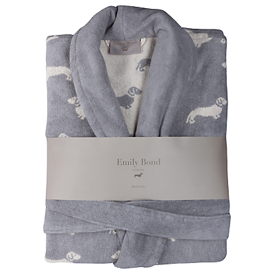 Emily Bond Dachshund Bath Robe