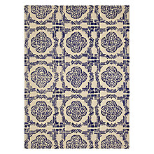 Buy John Lewis Sintra Rug, Blue Online at johnlewis.com