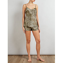 Buy Somerset by Alice Temperley Leopard Print Camisole Set, Gold/Black Online at johnlewis.com