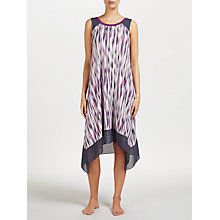 Buy DKNY Bleeker Street Chemise, Purple/Multi Online at johnlewis.com