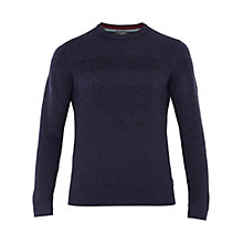 Buy Ted Baker Rossi Crew Neck Textured Jumper Online at johnlewis.com