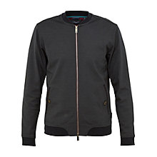 Buy Ted Baker Massimo Bomber Jacket, Navy Online at johnlewis.com
