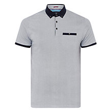 Buy Ted Baker Rokit Geo Print Cotton Polo Shirt Online at johnlewis.com