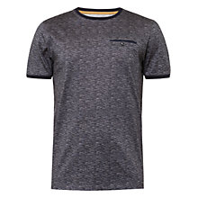 Buy Ted Baker Maso T-Shirt, Charcoal Online at johnlewis.com