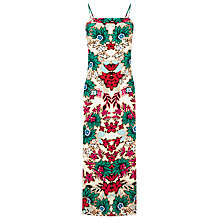 Buy Warehouse Floral 90s Slip Dress, Multi Online at johnlewis.com