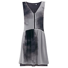 Buy Mint Velvet Noella Print Trapeze Dress, Multi Online at johnlewis.com