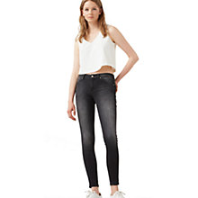 Buy Mango Kim Push Up Skinny Jeans, Grey Online at johnlewis.com