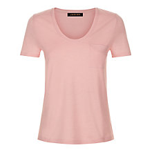 Buy Jaeger Cotton Short Sleeved Top Online at johnlewis.com