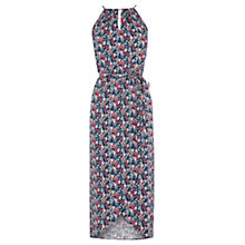 Buy Oasis Ditsy Pleat Midi Dress, Multi Online at johnlewis.com