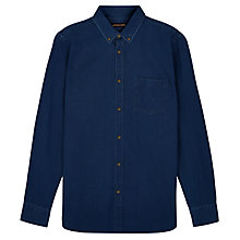 Buy Jaeger Indigo Shirt, Indigo Online at johnlewis.com