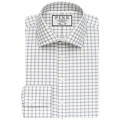 Image of Thomas Pink Goodall Check Classic Fit XL Sleeve Shirt