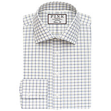 Buy Thomas Pink Goodall Check Classic Fit Shirt, White/Navy Online at johnlewis.com