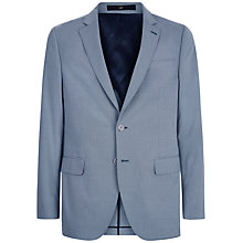 Buy Jaeger Micro Puppytooth Modern Fit Suit Jacket, Blue Online at johnlewis.com
