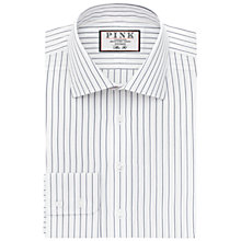 Buy Thomas Pink Holbert Stripe Slim Fit XL Sleeve Shirt Online at johnlewis.com