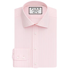 Buy Thomas Pink Holbert Stripe Classic Fit XL Sleeve Shirt Online at johnlewis.com