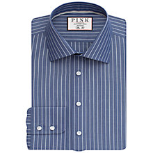 Buy Thomas Pink Holbert Stripe Slim Fit Shirt Online at johnlewis.com