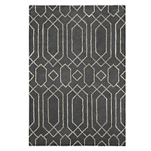 Buy John Lewis Parga Rug, Grey Online at johnlewis.com