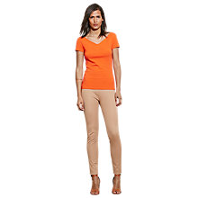 Buy Lauren Ralph Lauren Akil Top, Vienna Orange Online at johnlewis.com